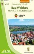 Bad Waldsee - Biberach an der Riss, Bad Wurzach Wanderkarte 1:25.000