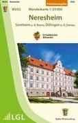 Neresheim - Sontheim a.d.Brenz, Dillingen a.d.Donau Wanderkarte 1:25.000