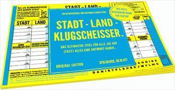 Stadt-Land-Klugscheisser - Spielblock