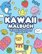 Kawaii Malbuch für Kinder und Erwachsene