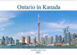 Ontario in Kanada - Kanadische Kontraste (Wandkalender 2021 DIN A2 quer)