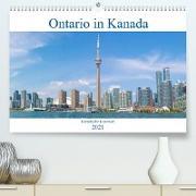 Ontario in Kanada - Kanadische Kontraste (Premium, hochwertiger DIN A2 Wandkalender 2021, Kunstdruck in Hochglanz)
