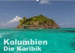 Kolumbien - Die Karibik (Wandkalender 2021 DIN A2 quer)