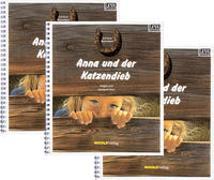 Werkstatt-Set Anna und der Katzendieb - Leselabyrinth