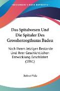 Das Spitalwesen Und Die Spitaler Des Grossherzogthums Baden