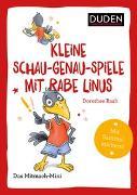 Duden Minis (Band 39) – Kleine Schau-genau-Spiele mit Rabe Linus