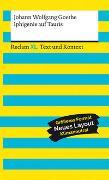 Iphigenie auf Tauris. Textausgabe mit Kommentar und Materialien