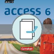English G Access, Allgemeine Ausgabe, Band 6: 10. Schuljahr, Begleitmedienpaket, Vorschläge zur Leistungsmessung, Video-DVD, Audio-CDs, Förderordner