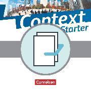 Context Starter, Allgemeine Ausgabe 2014, Lehrer-Paket, Schülerbuch - Lehrerfassung, Workbook - Lehrerfassung, Handreichungen