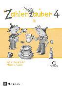 Zahlenzauber, Mathematik für Grundschulen, Allgemeine Ausgabe 2016, 4. Schuljahr, Lehrermaterialien mit CD-ROM
