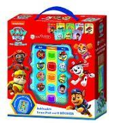 PAW Patrol, Mein Vorleser Junior - Nickelodeon - Elektronisches Lese-Pad mit 8 Hardcover-Büchern
