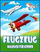 Flugzeug Malbuch Für Kinder
