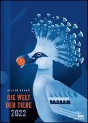 Dieter Braun: Die Welt der Tiere 2022 – Wandkalender – Poster-Format 50 x 70 cm