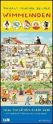 Wimmlingen 2022 – Mega-Familienkalender mit 7 Spalten – Mit 2 Stundenplänen und Ferientabelle – Hochformat 30,0 x 70,0 cm