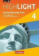 English G Highlight, Hauptschule, Band 4: 8. Schuljahr, Lehrerfassung Plus, Mit Lösungen und Unterrichtshilfen kompakt