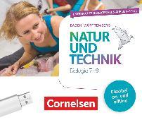 Natur und Technik - Biologie Neubearbeitung, Baden-Württemberg, 7.-9. Schuljahr, Unterrichtsmanager Plus auf USB-Stick, Inkl. E-Book als Zugabe und Begleitmaterialien