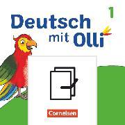 Deutsch mit Olli, Erstlesen - Ausgabe 2021, 1. Schuljahr, Handreichungen und Kopiervorlagen im Paket