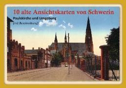 10 alte Ansichtskarten von Schwerin