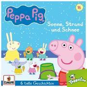 Peppa Pig Hörspiele 016. Sonne, Strand und Schnee (und 5 weitere Geschichten)