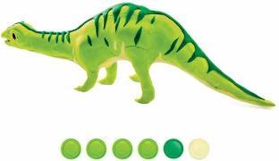 Holz-/Knet-Bausatz Brontosaurus