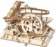 Holzbausatz Murmelbahn