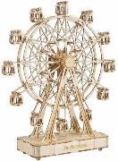 3D Holzpuzzle Spieluhr Riesenrad