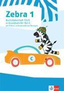 Zebra 1. Buchstabenheft PLUS in Grundschrift mit Videos und interaktiven Übungen Klasse 1