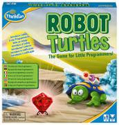 Robot Turtles, ein Kinderspiel bei dem Kinder ab 4 Jahre mit Spaß und spielerisch erstes Programmieren lernen