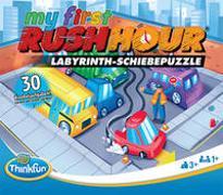 ThinkFun 76443 - My first Rush Hour - Das bekannte Stau-Spiel für Kinder ab 3 Jahren, Logikspiel für 1 Spieler, mit Aufgaben für Anfänger und Experten