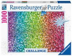 Ravensburger Challenge Puzzle 16745 - Glitzer - 1000 Teile Puzzle für Erwachsene und Kinder ab 14 Jahren