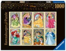Ravensburger Puzzle 16504 – Nouveau Art Prinzessinnen – 1000 Teile Disney Puzzle für Erwachsene und Kinder ab 14 Jahren