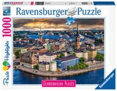 Ravensburger Puzzle Scandinavian Places 16742 - Stockholm, Schweden - 1000 Teile Puzzle für Erwachsene und Kinder ab 14 Jahren