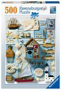 Ravensburger Puzzle 16588 - Maritimes Flair - 500 Teile Puzzle für Erwachsene und Kinder ab 12 Jahren