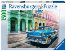 Ravensburger Puzzle 16710 - Cars Cuba - 1500 Teile Puzzle für Erwachsene und Kinder ab 14 Jahren