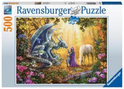 Ravensburger Puzzle 16580 - Drachenflüsterer - 500 Teile Puzzle für Erwachsene und Kinder ab 12 Jahren