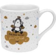 """Sheepworld 47310 Tasse mit Geschenkbanderole """"Ich bin für Dich da!"""", Porzellan 45 cl"""