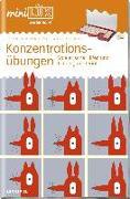 miniLÜK. Fördern & Fordern: Konzentrationsübungen. Vorschule/1./2. Klasse