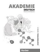 Akademie Deutsch B2+. Band 04. Zusatzmaterial mit Audios online