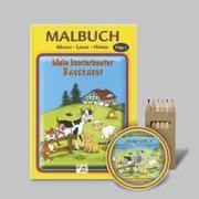 Mein kunterbunter Bauernhof - Malen-Lesen-Hören (Malbuch-Set)