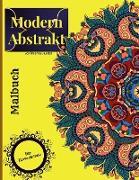 Moderne abstrakte Färbung Buch für Erwachsene