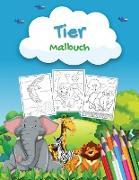 Tier Malbuch