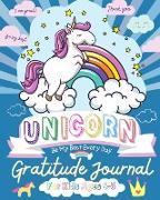 Unicorn Gratitude Journal for Kids Ages 4-8