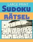 Schweres Sudoku-Rätselbuch für Erwachsene - mit Lösungen