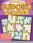 Schwierige Sudoku-Gehirnspiele für Erwachsene