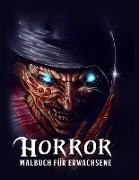 Horror Malbuch
