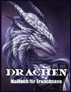 Drachen Malbuch Für Erwachsene