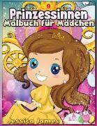 Prinzessinnen Malbuch für Mädchen