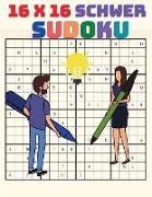 16 x 16 Sudoku für Experten Spieler