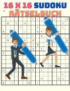 16 x 16 Sudoku Rätselbuch