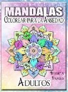 Mandalas Adultos Colorear para la Ansiedad